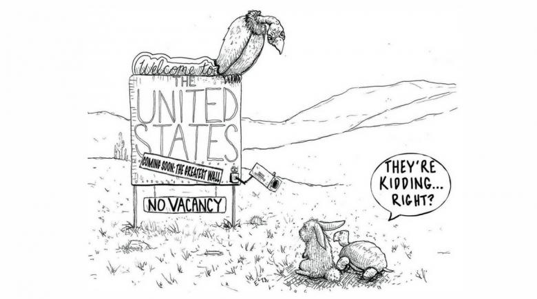 Sheeptoast editorial cartoon: June 22, 2018