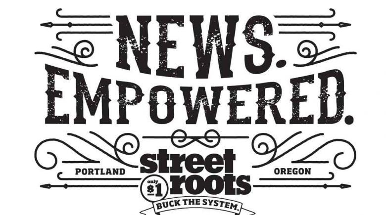 2015 Street Roots T-shirt design