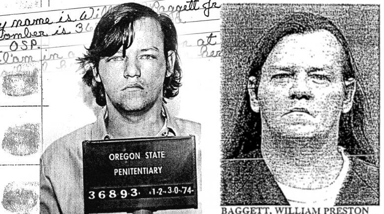 Mugshots and fingerprints of Billy Baggett Jr.