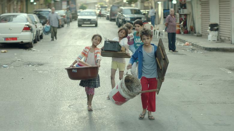 "Children in the movie ""Capharnaüm"""