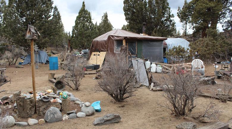Joy and Joe's camp