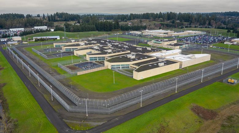 Aerial view of Coffee Creek Correctional Facility