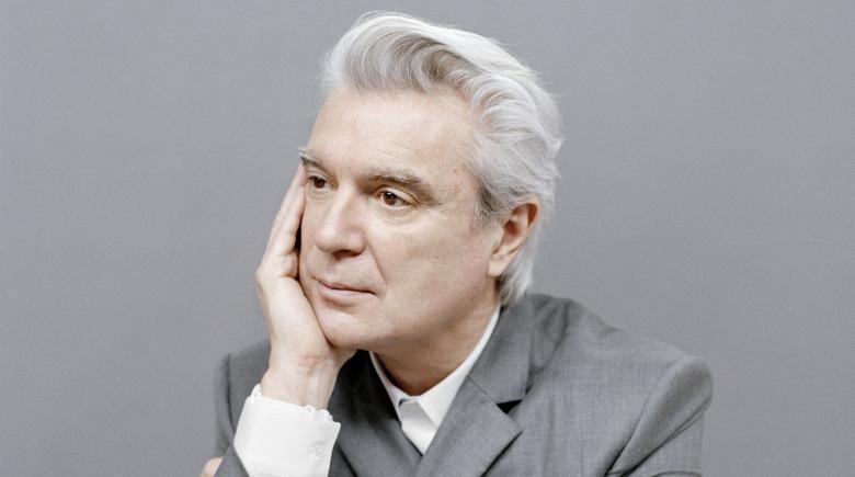 David Byrne portrait