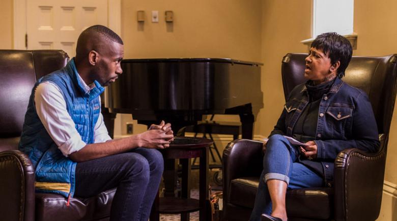 Nettie Johnson interviews DeRay Mckesson