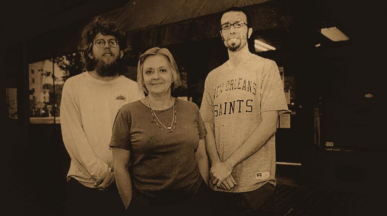 Michael Parker, Bryan Pollard and Sharon Pearson