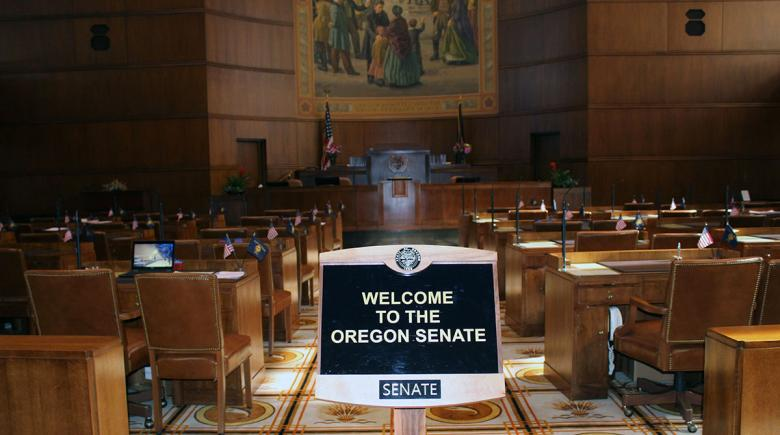 Oregon Senate chambers