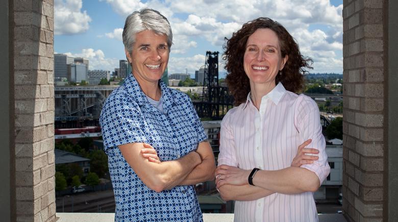 Kim Toevs and Jennifer Vines