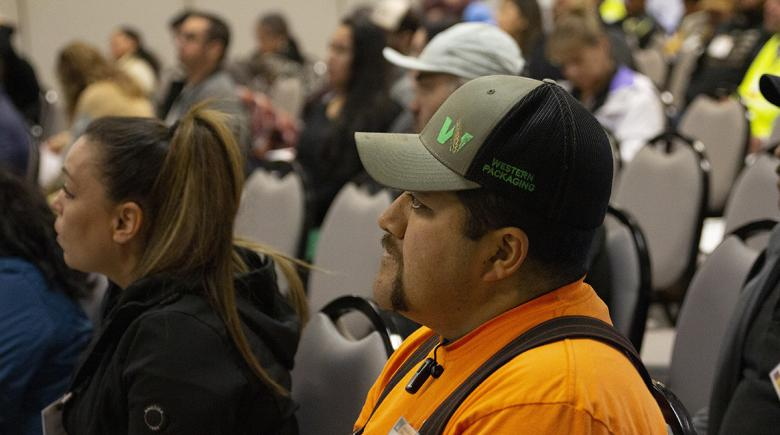Crowd at Oregon OSHA conference