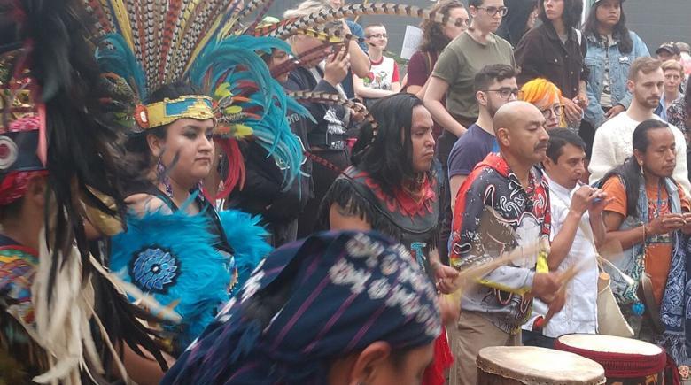 Mexica Tiahui Aztec Dancers