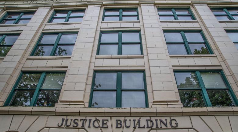 Oregon Justice Building exterior