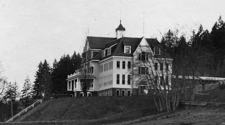 Historical photo of the Oregon State Tuberculosis Hospital