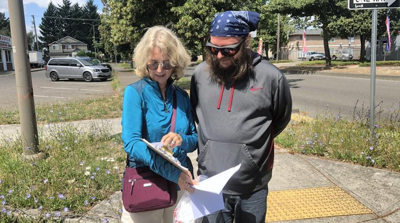 Portland Street Response surveys