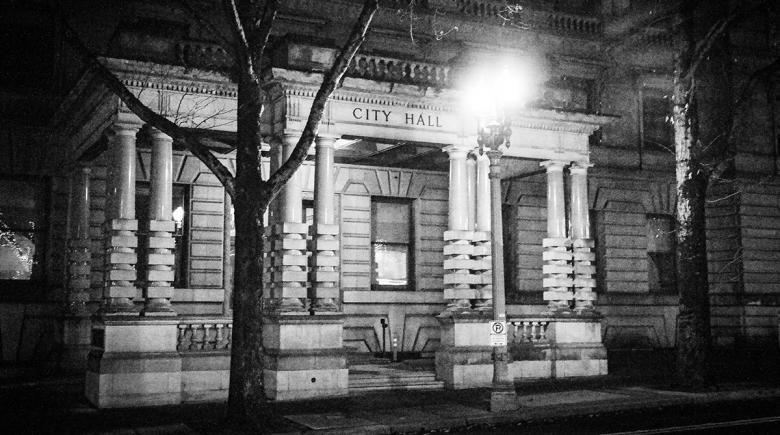 Photo of Portland city hall