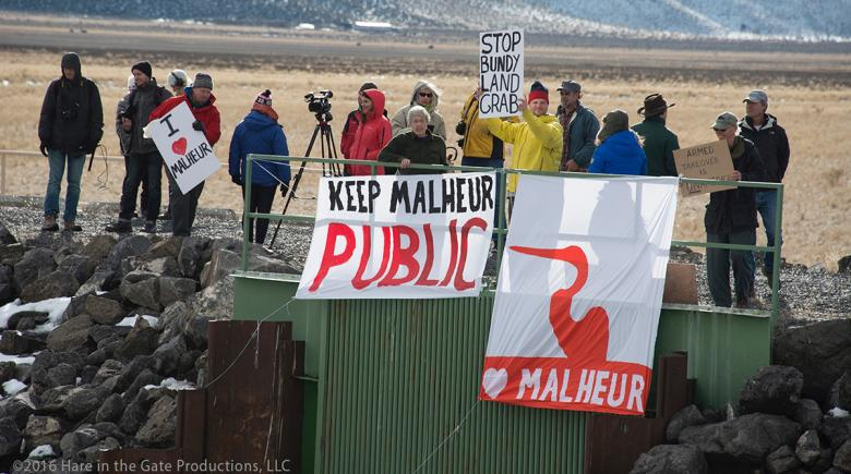 Malheur National Wildlife Refuge protest