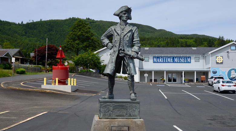 Capt. Robert Gray statue