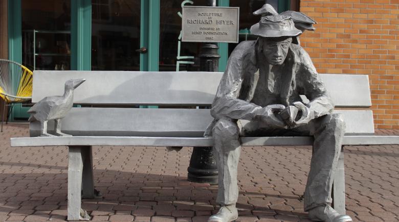 Richard Beyer sculpture in Bend