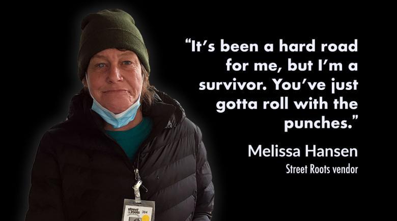 Street Roots vendor Melissa