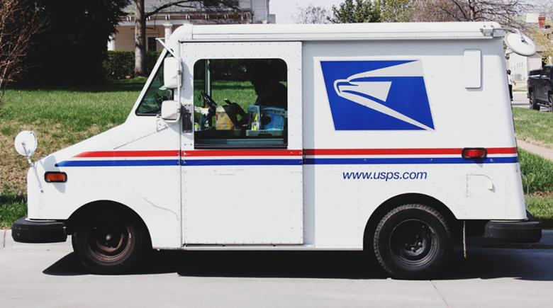 U.S. Postal Service delivery truck