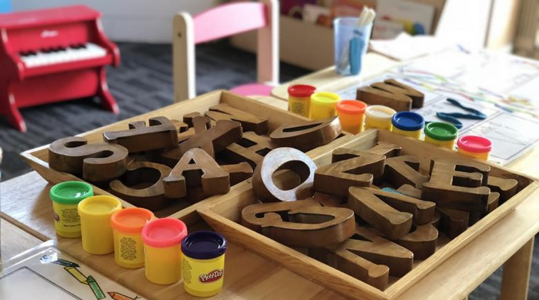 Preschool classroom activities
