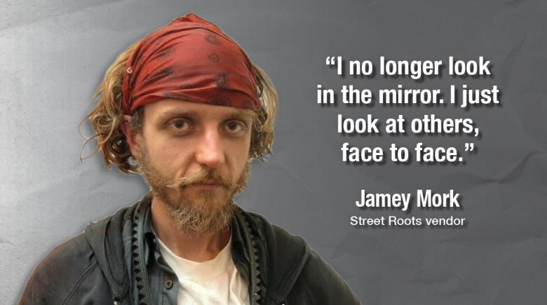 Street Roots vendor Jamey