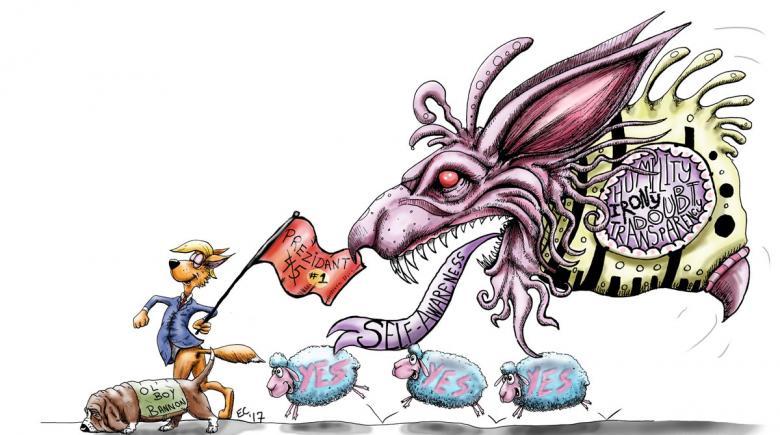 Sheeptoast editorial cartoon: April 7, 2017