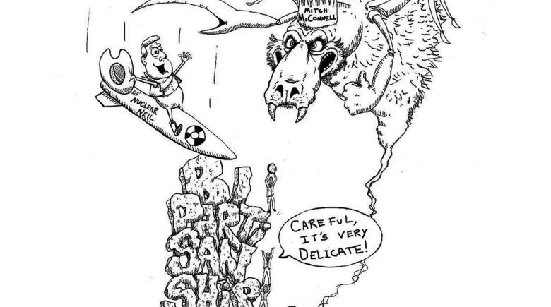 Sheeptoast editorial cartoon: May 5, 2017