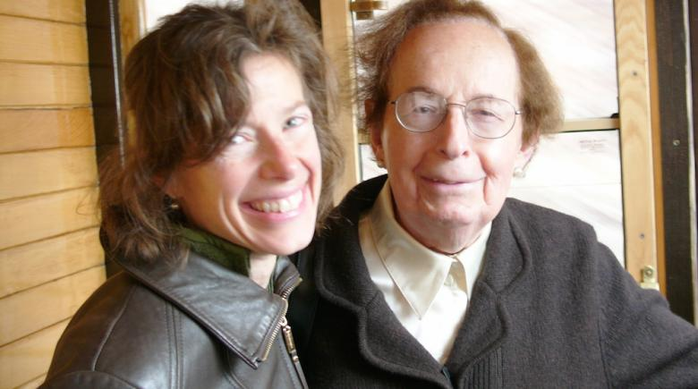 Susan Faludi and her father, Stefánie