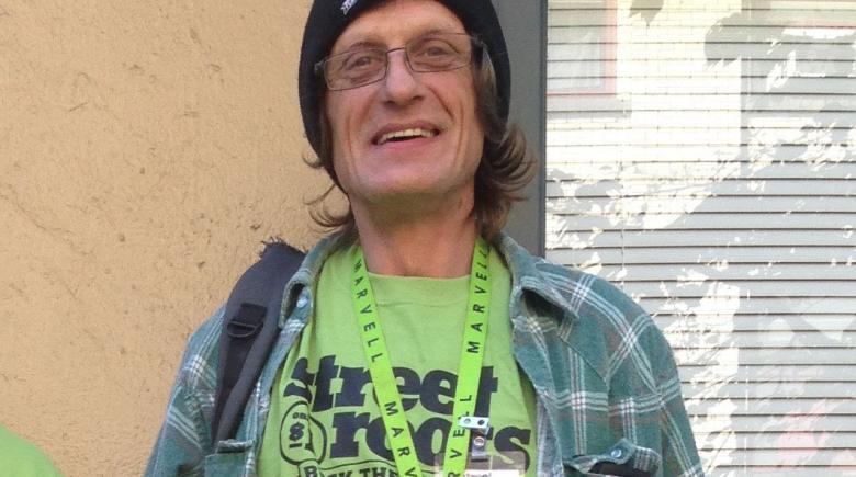 Street Roots vendor Stephen