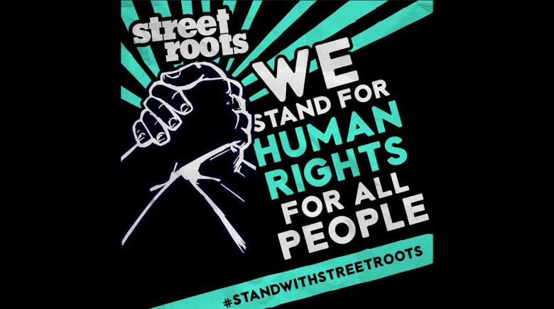 We stand for human rights for all people