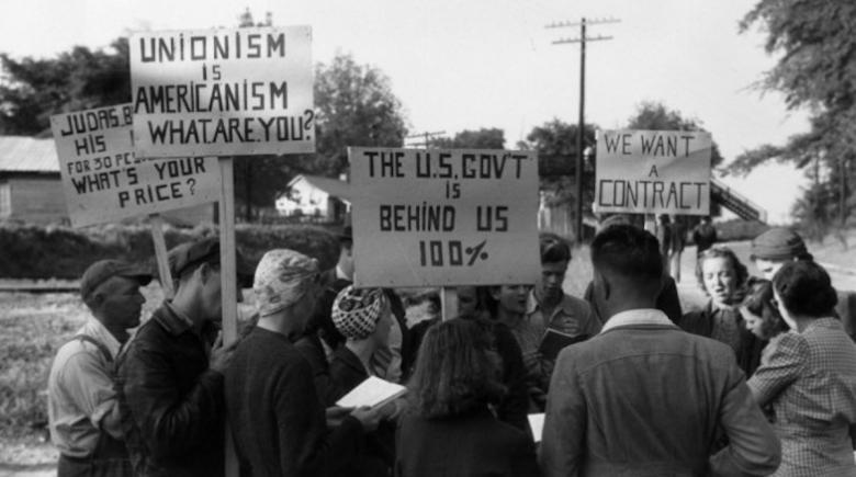 1940s union march