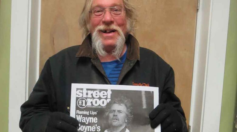 Street Roots vendor John Munro