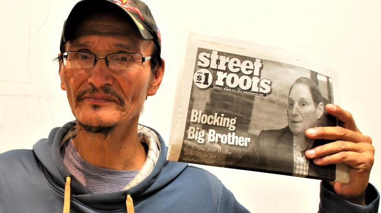 Street Roots vendor Harold
