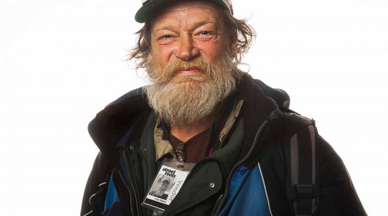 Street Roots vendor Louis Adams