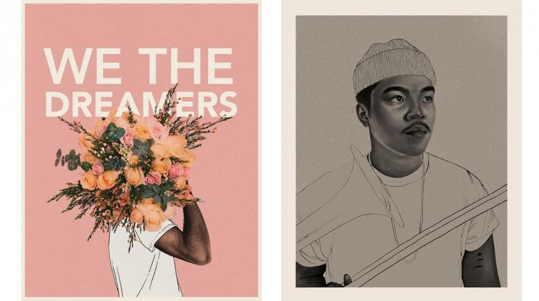 """We the Dreamers"" artwork"