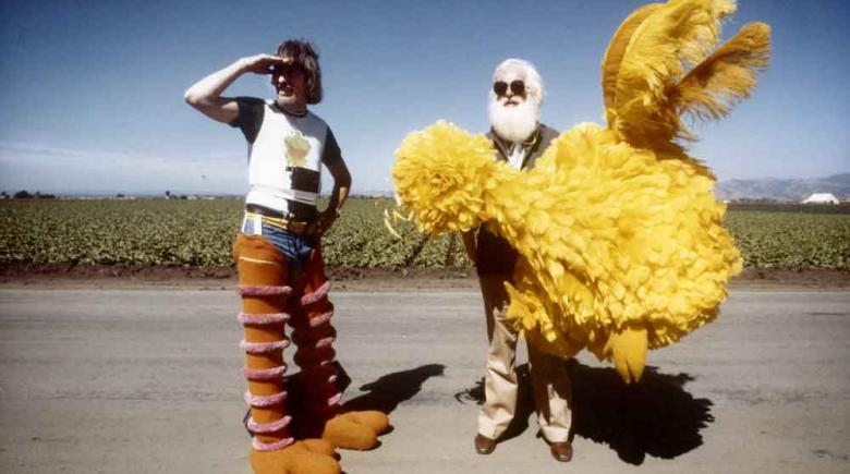 """Puppeteer Caroll Spinney has played Big Bird and Oscar the Grouch since Sesame Street hit U.S. screens in 1969. His extraordinary career is documented in the new film """"I am Big Bird."""""""