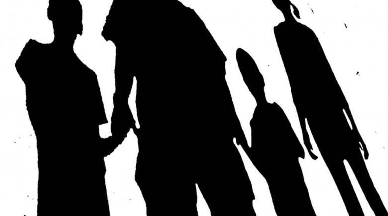 Illustration: Silhouette of family