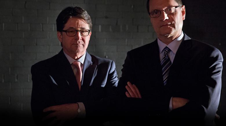 Dean Strang and Jerry Buting