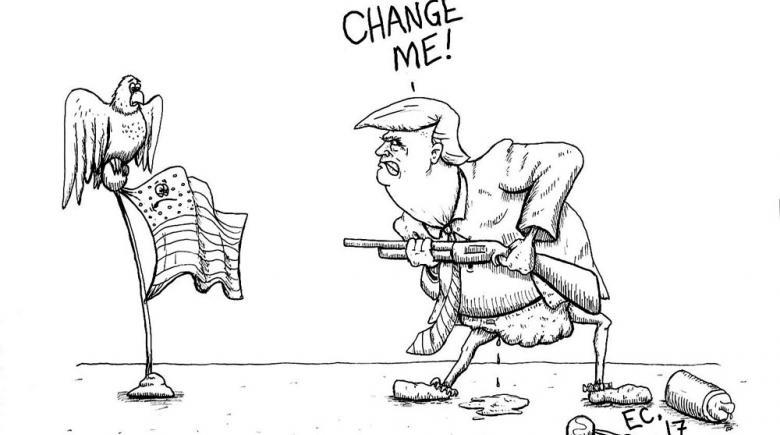 Sheeptoast editorial cartoon: April 28, 2017