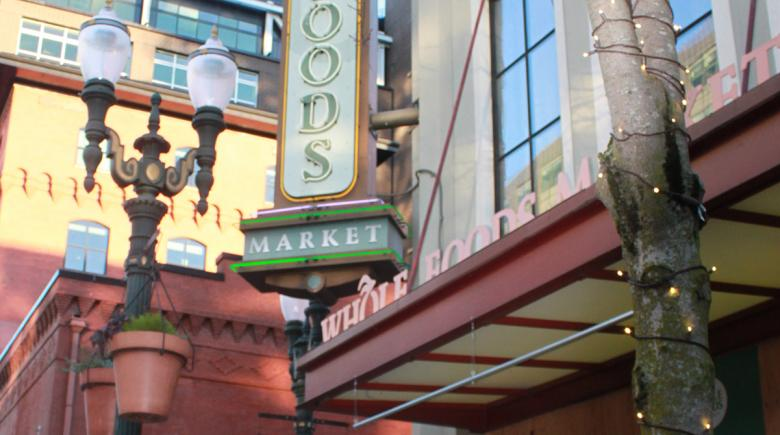 Whole Foods exterior sign