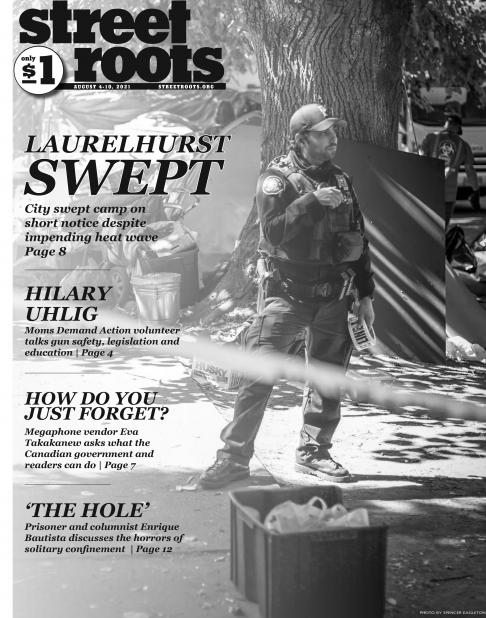 Cover of the August 4, 2021, edition of Street Roots