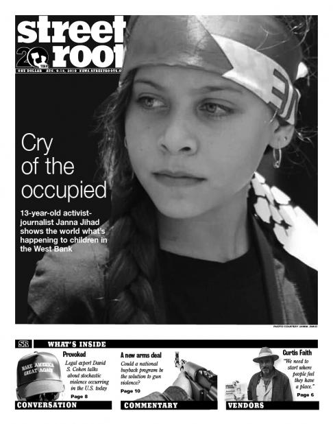 Street Roots Aug. 9, 2019, cover