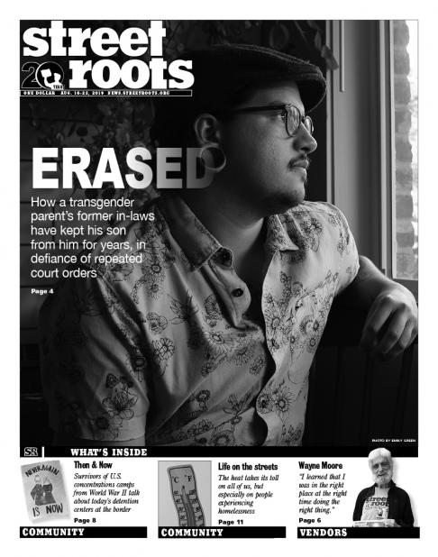 Street Roots Aug. 16, 2019, cover