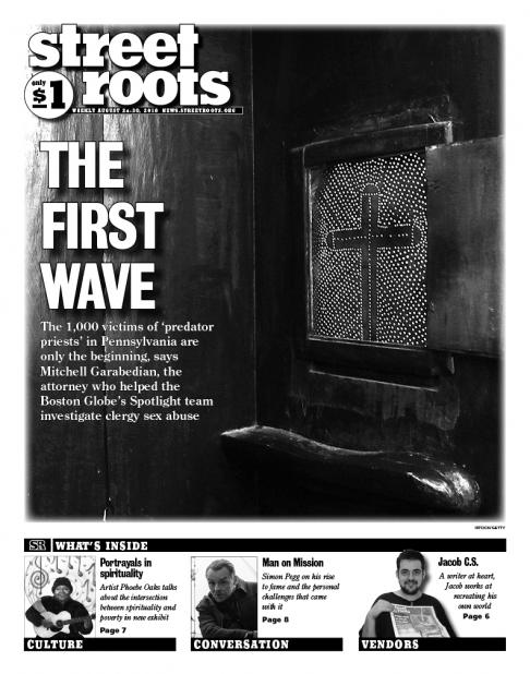 Street Roots Aug. 24, 2018, cover