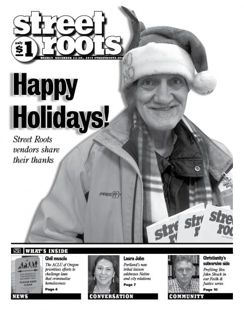 Street Roots Dec. 22, 2017, edition