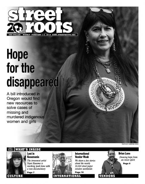 Street Roots Feb. 1, 2019, cover