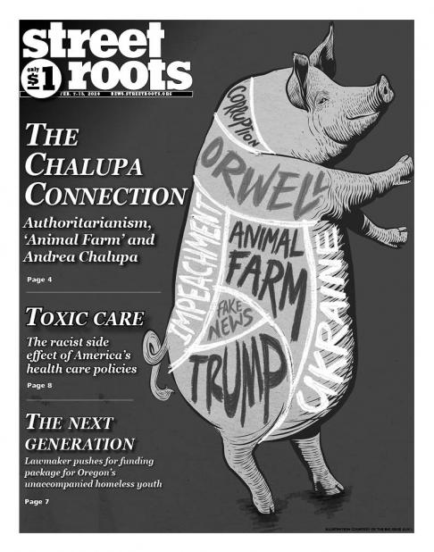 Street Roots cover, Feb. 7, 2020