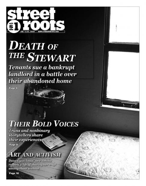 Street Roots cover Feb. 14, 2020