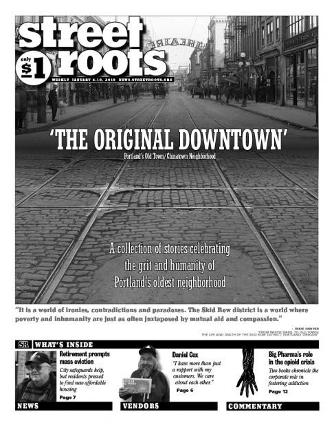 Street Roots Jan. 4, 2019, cover