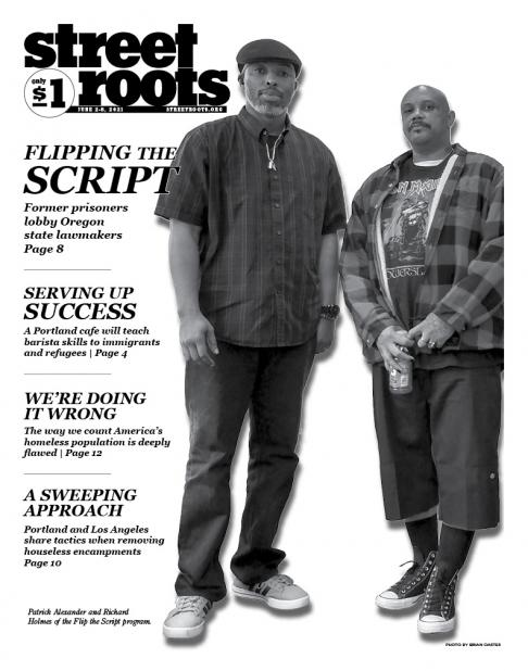 June 2, 2021, cover of Street Roots
