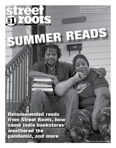 Cover of the June 23, 2021, edition of Street Roots